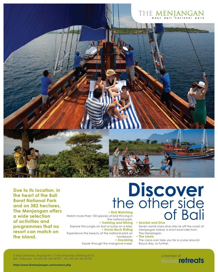 The Menjangan Print Ads (Magazine), Bali - 2011