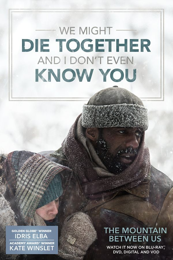 Get The Mountain Between Us on Blu-ray, DVD, & VOD.