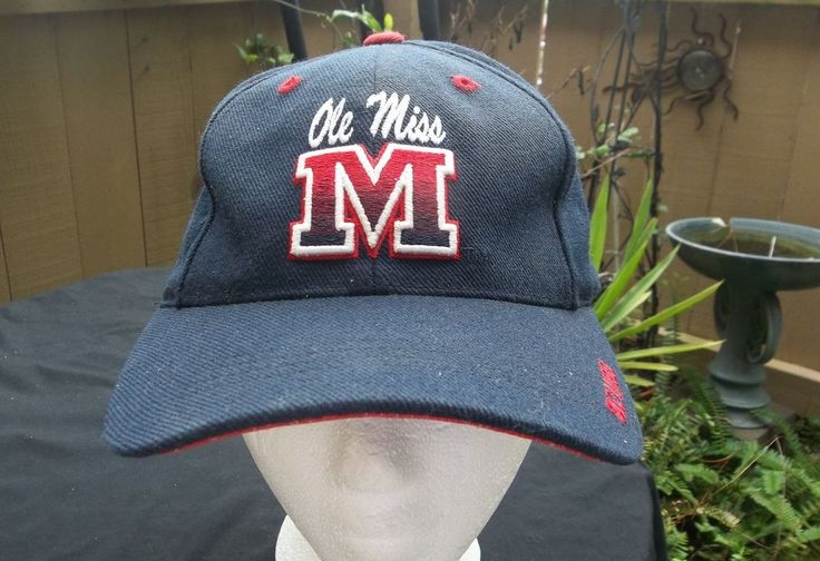 Ole Miss Hat Adjustable NCAA Official Puma Cap University of Mississippi