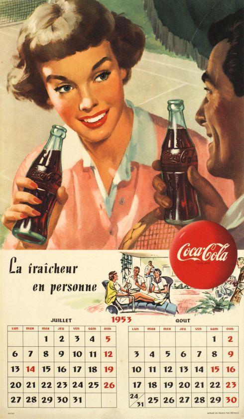 Coca-Cola, la fraîcheur en personne by Anonymous / 1953