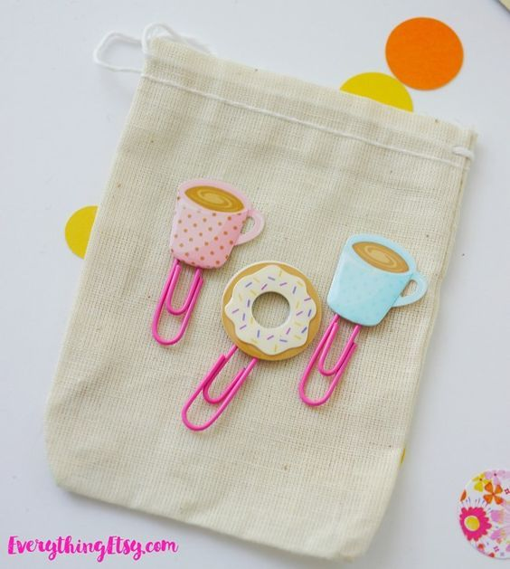 DIY Planner Paper Clips - Cute Sticker Ideas on EverythingEtsy.com