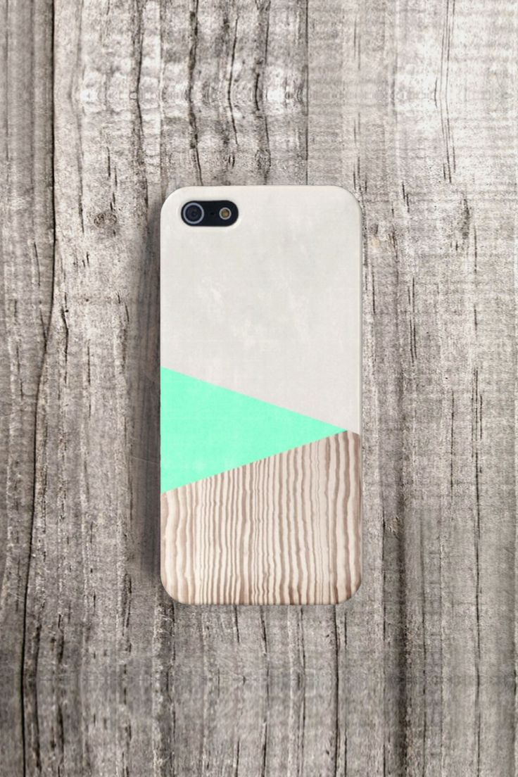 CSERA NEON WOOD print case, by recycled material, waterproof & limited!
