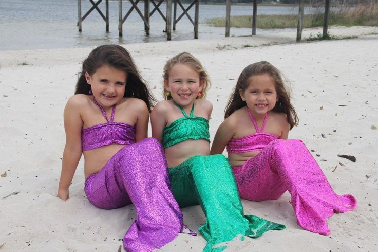 "Mermaids everywhere! Its the ""IN"" thing! INCLUDES THE SWIM TOP, BIKINI BOTTOMS UNDERNEATH, AND MATCHING MERMAID FIN!"