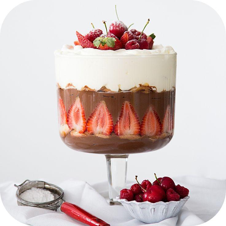 Pavê de Chocolate com Morango | Vídeos e Receitas de Sobremesas