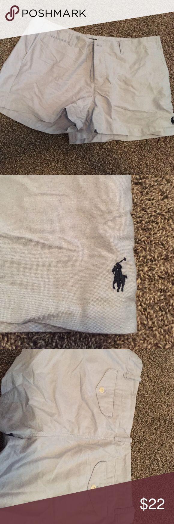 Women's Polo Shorts. NWOT NWOT. Ralph Lauren Light Blue Shorts. size 12. Polo by Ralph Lauren Shorts