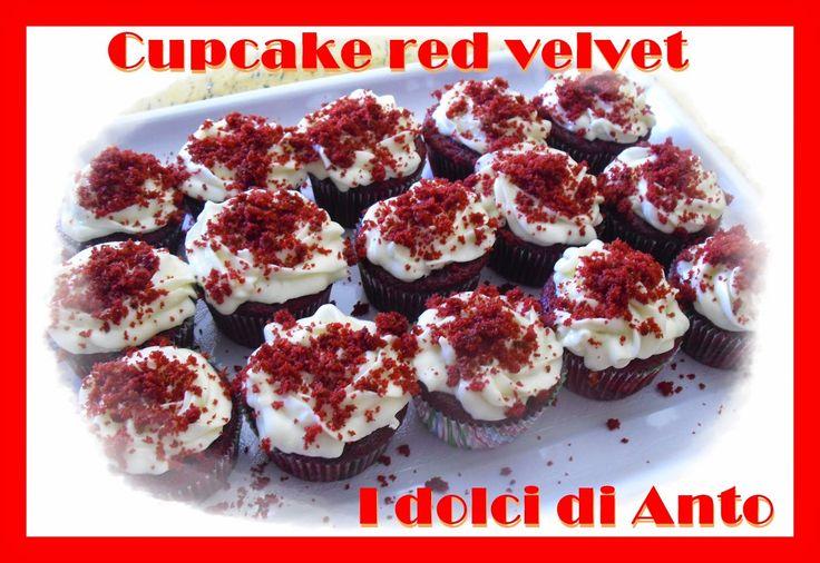 i dolci di Anto: Cupcake red velvet