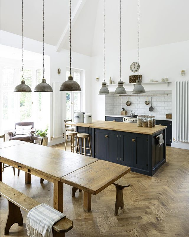 Furniture that's made by craftsman who live in the moment, who find a place in the act of making, is furniture of real beauty. It's the connection between the maker and the thing that is made that has sometimes been lost #deVOLKitchens