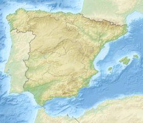 (Voir situation sur carte: Espagne)