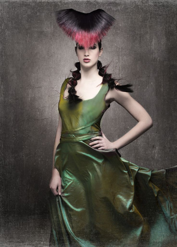 I know this is fashion fantasy, but there is still something subversive about this imagery.  North American Hairstyling Awards (NAHA). Student Winner Stormie Roberts' design, with her photographer, Eric Fisher.