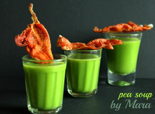 Quick and easy Thermomix recipe: pea soup for TM31