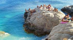 Sechyelles Beach: Ikaria, Greece