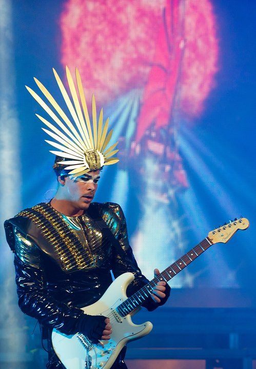 Empire of the Sun. Such a great show yesterday at Hudson River Park - Pier 26 #newyorkcity #alive