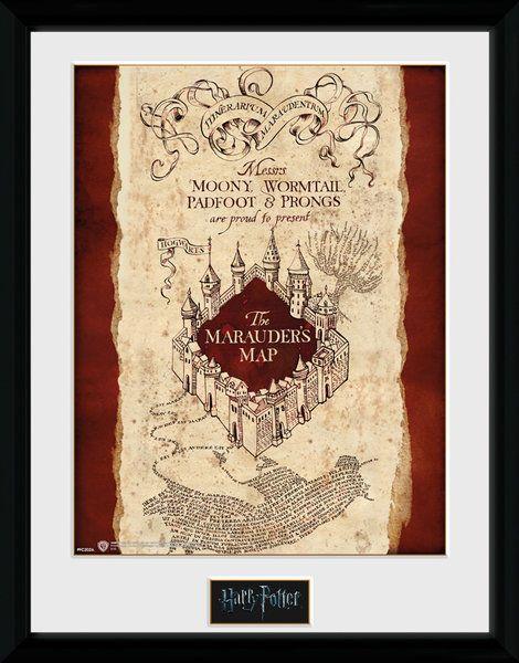 Harry Potter Marauder's Map - Collector Print