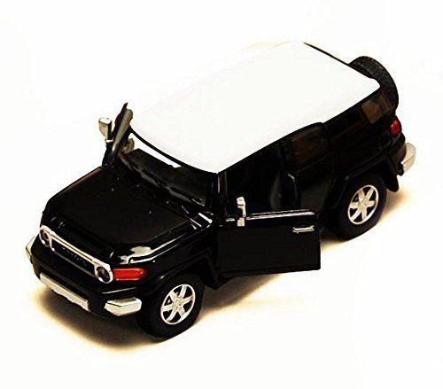 Toyota FJ Cruiser SUV, Black   Kinsmart 5343D   1/36 scale Diecast Model Toy Car. #Toyota #Cruiser #SUV, #Black #Kinsmart #scale #Diecast #Model