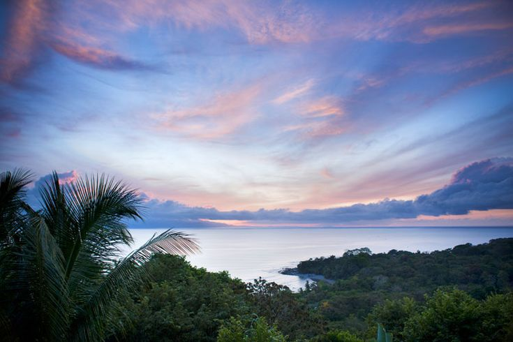 ECO LODGE: Sunrise in the jungle at Lapa Rios nature reserve on the Osa Peninsula, Costa Rica. Image by Lizzie Shepherd / Robert Harding World Imagery / Getty Images.