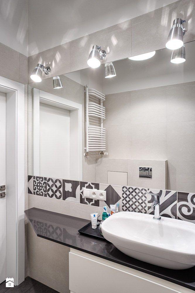 Minimalistyczne mieszkanie - Łazienka, styl minimalistyczny - zdjęcie od Chorążak Studio