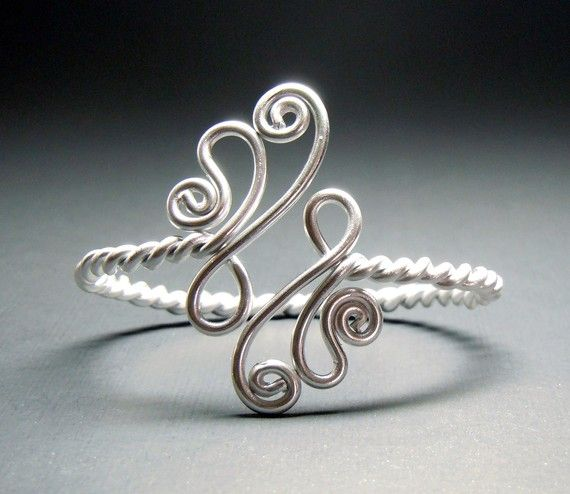 Twisted Paisley Adjustable Bracelet by melissawoods on Etsy, $16.00