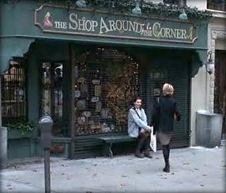 The Shop Around The Corner has that warm holiday spirit.: You'Ve Got Mail, Book Stores, Corner, Book Shop, Bookstores, Fictionalbookshops Moviescenes, Favorite Movie
