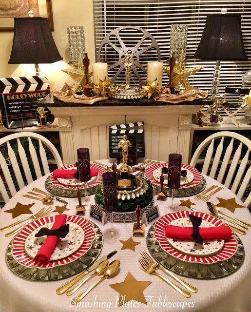 Smashing Plates Tablescapes: Live from the Red Carpet