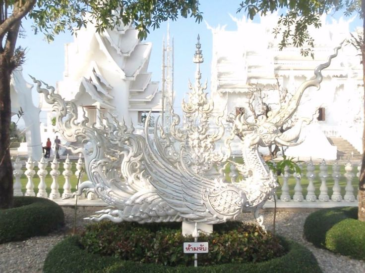 Wat Rong Khun - A beautiful Temple in Thailand