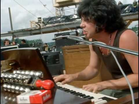 Evil Ways - Santana [Live at Woodstock 1969]. Not in the original film...a real treat! Once again it show the great contributions of Gregg Rolie to the classic Santana sound.