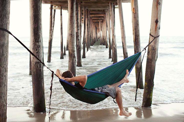 JP Trehy  Nags Head Pier Nags Head Beach NC  photo contest  Eno hammock Photo contest