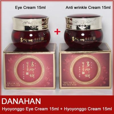 [Korean Cosmetics] DANAHAN Hyoyonggo Eye Cream 15ml + Anti wrinkle Cream 15ml