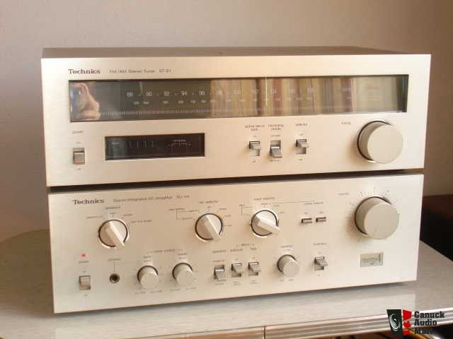 Technics Vintage Amplifier Su V4 Plus Matched Tuner St S1