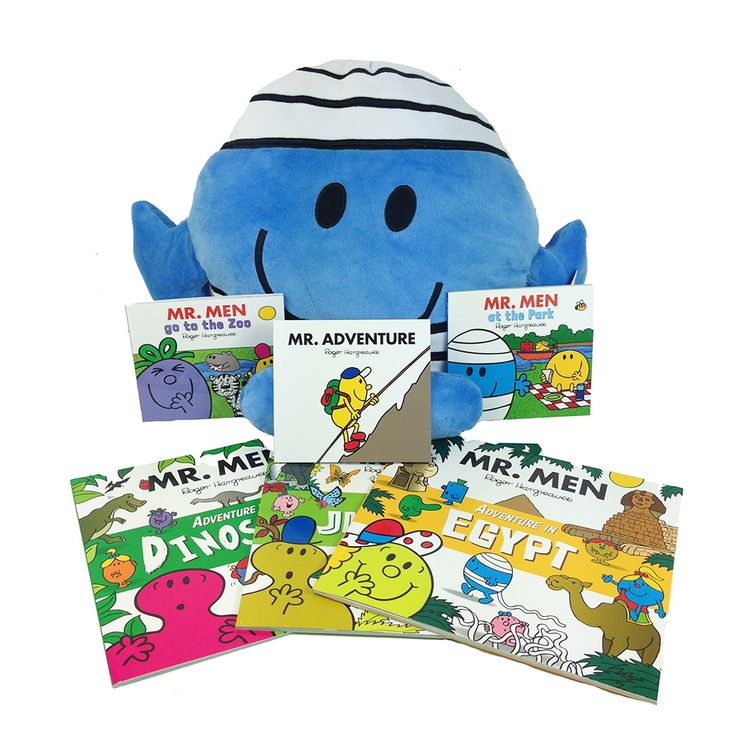 Share a photo of your child having a Mr Men Adventure for a chance to win this Mr Men book bundle and Mr Bump plush!
