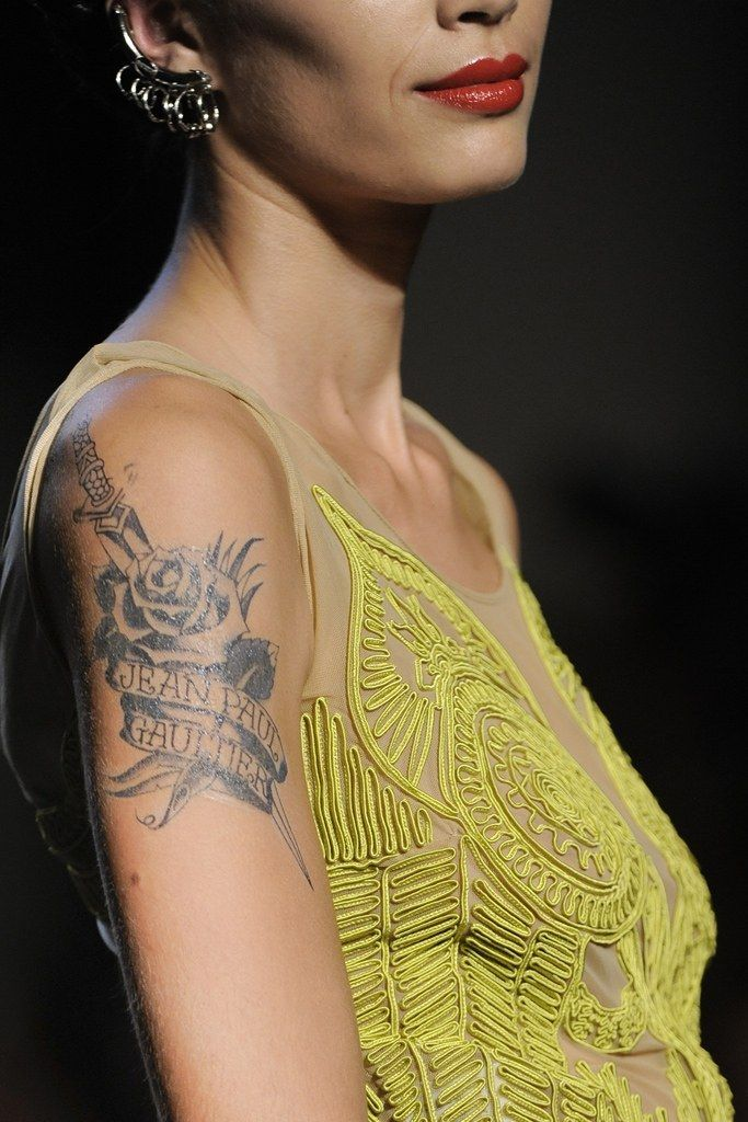 Details at Jean Paul Gaultier Spring 2012 RTW