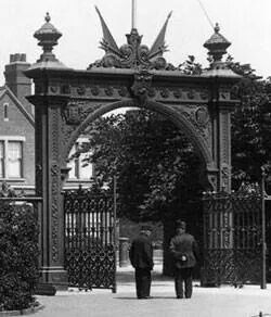 Peoples Park gates