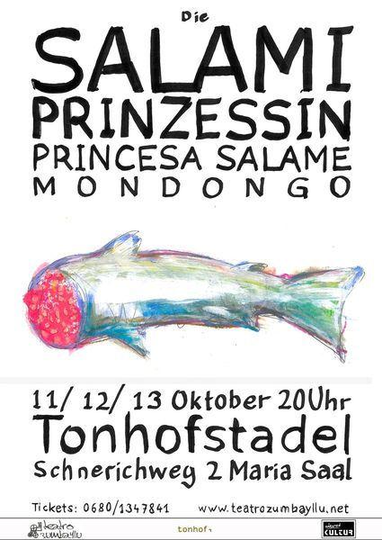 SALAMIPRINZESSIN | Princesa Salame | MONDOGO design Valentin Aigner
