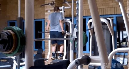27 Gym Fails That Will Make You Cringe