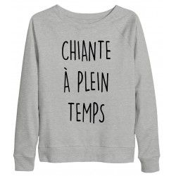 SWEAT CHIANTE A PLEIN TEMPS