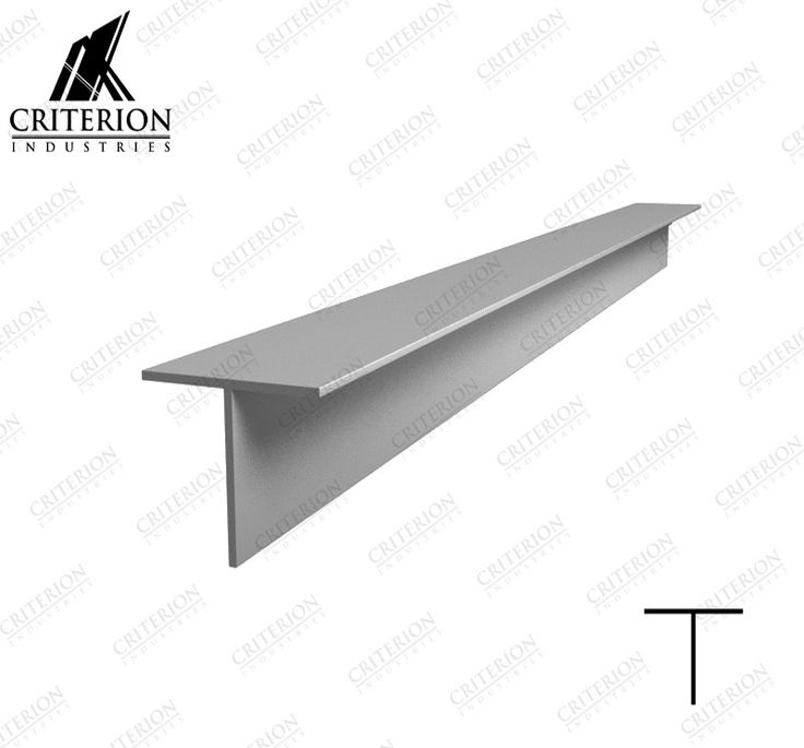 25 x 25 x 1.6mm T-Section