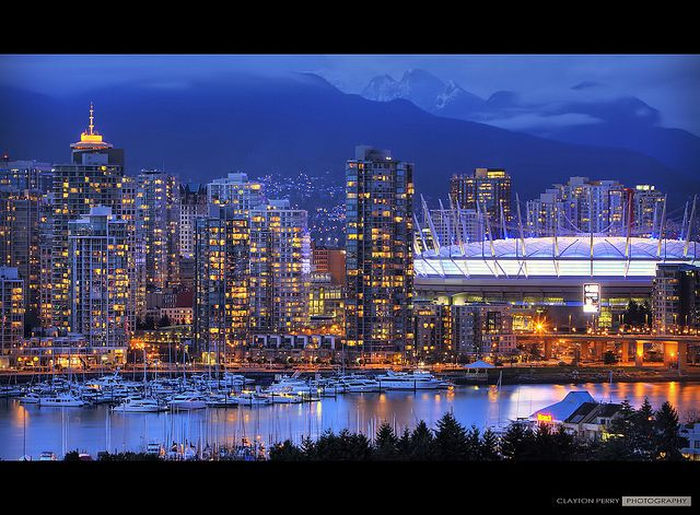 When BC Place got its new roof, it changed our skyline and made it a very popular nighttime photography subject.