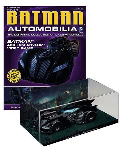 Pré-Encomenda:  Batman Automobilia Magazine with 1/43 Diecast Model #34 Arkham Asylum Video Game  Para mais informações clica no seguinte link: http://buff.ly/1jipKE4  #ToyArt #Eaglemoss #Batman