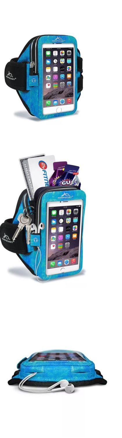 Other Fitness Clothing 158920: Armpocket - Mega I-40 Armband For Iphone Galaxy Note And Other-Arctic Blue, Medium -> BUY IT NOW ONLY: $44.99 on eBay!