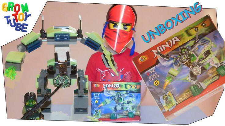 cb toys ninjago Morro mech 32036  113pcs Unboxing & build