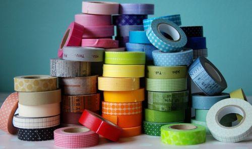 Sueños de Craft: ♥ 10 ideas de decoración con washi tape