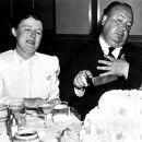 Alma Reville & Alfred Hitchcock