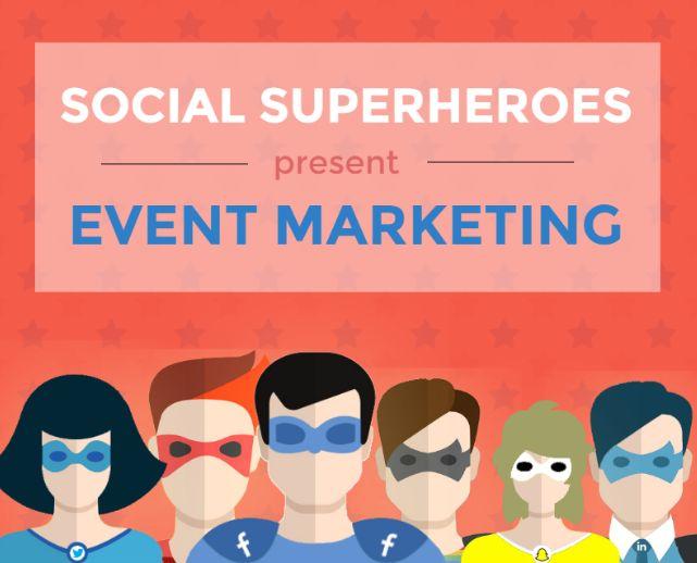 How to Utilize #SocialMedia for #EventMarketing [#INFOGRAPHIC]