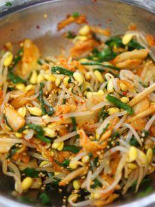 キムチとニラもやしの酢の物 by manngo(河野ひとみ) | レシピサイト「Nadia | ナディア」プロの料理を無料で検索
