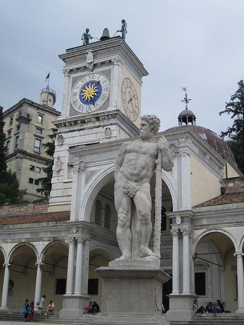 Hercules statue, Piazza della Libertà, Udine, Italy by Paul McClure DC, via Flickr