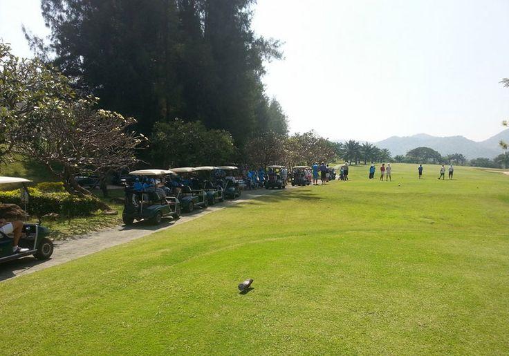 Cha-Am Golf Club : Phetchaburi, Thailand