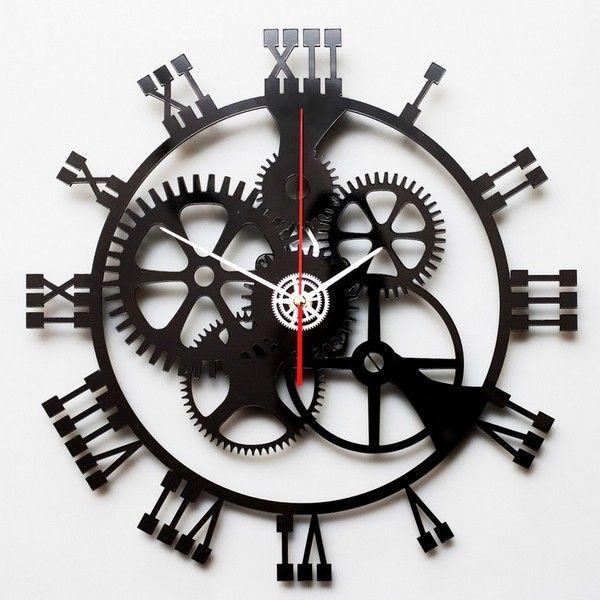 image horloge-pendule-mécanisme horloge-heure