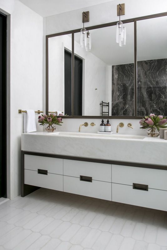 Luxurious Master Bathroom in NYC Apartment