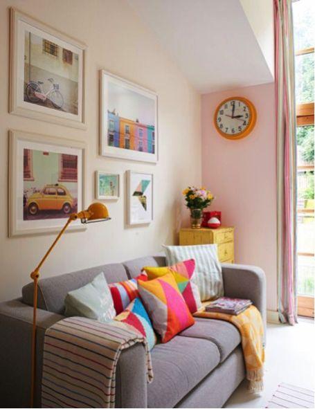 Como usar quadros pra deixar sua decoração incrível!