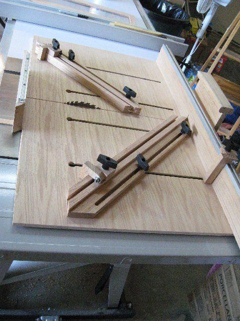 Table Saw Super Sled guia para sierra de banco