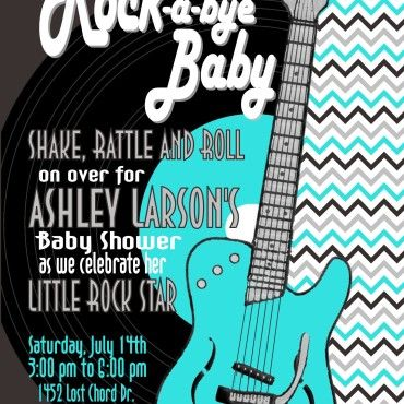 Rock And Roll Baby Room